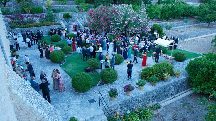 Aperitivo Bodas en Son Berga - Mallorca Weddings in Mallorca