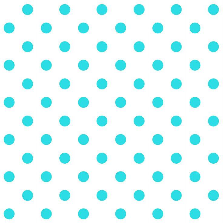 FREE printable blue polka dot pattern paper