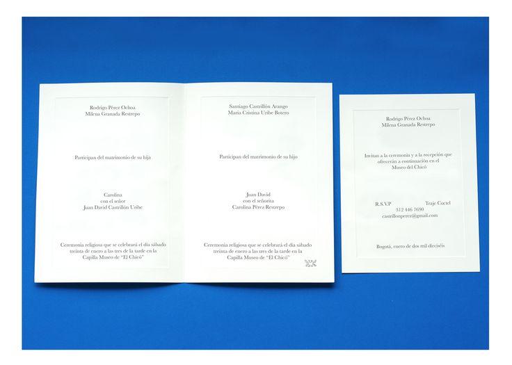 Palette - Invitación Boda