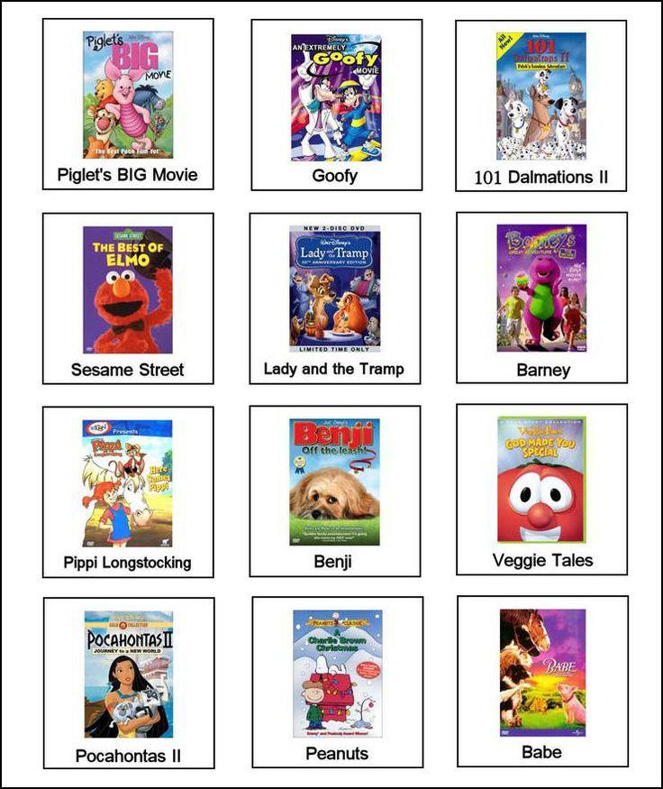 Free Autism Pecs, Picture Exchange Communication Symbols (PECS)