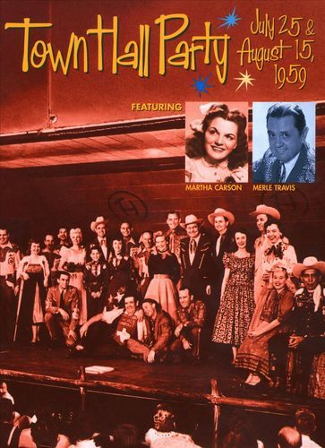At Town Hall Party July 25 & August 15 1959 [DVD]