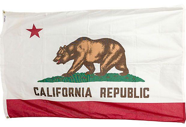 Deadstock California Flag