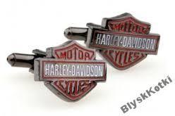 Spinki do mankietów - Harley Davidson