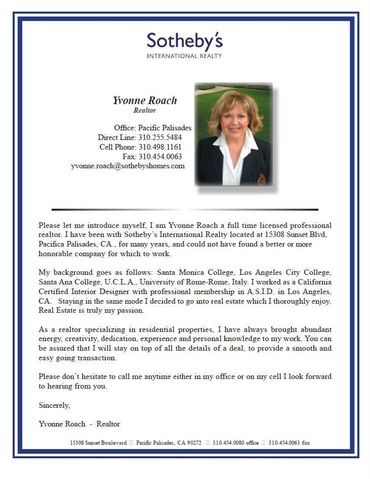 Realtor Bios Biography Template Biography Examples Professional Biography Examples