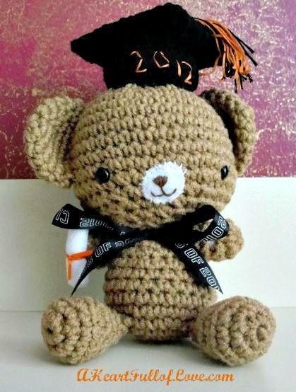 Graduation Teddy Bear - A Heart Full of Love