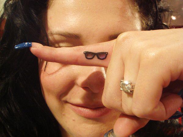 6 Ray Ban sunglasses tattoo