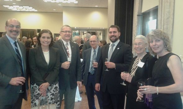 9 Fulbright alumni gave a talk at the American Hungarian Educators Association (AHEA) 41st Annual Conference at University of Maryland, April 28-30, 2016. Following the event a reception was organized at the Hungarian Embassy jointly with the Fulbright Commission.