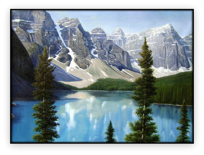Canadian Landscapes 005: 36x48inches