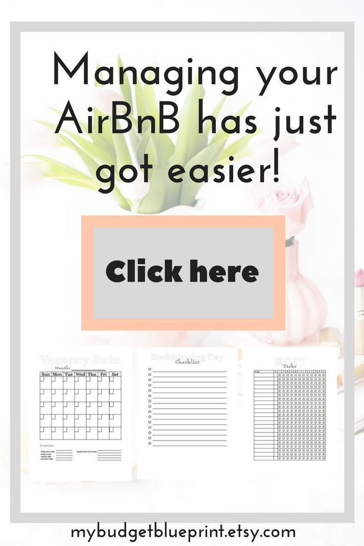 Your Air BnB rental unit is a business and needs it's own business planner to keep on track, be aware of the money coming in and out, and not make the same mistakes! This printable property management kit is a great tool for income property owners and Air