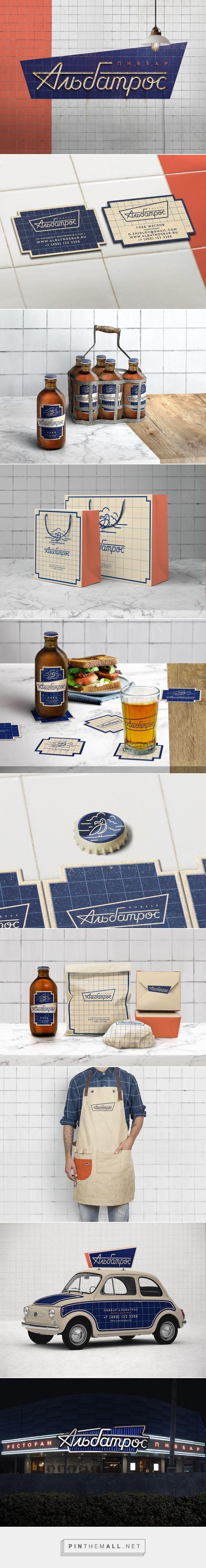 Albatros Gastro Pub Branding by Igor Khrupin | Fivestar Branding Agency – Design and Branding Agency & Curated Inspiration Gallery