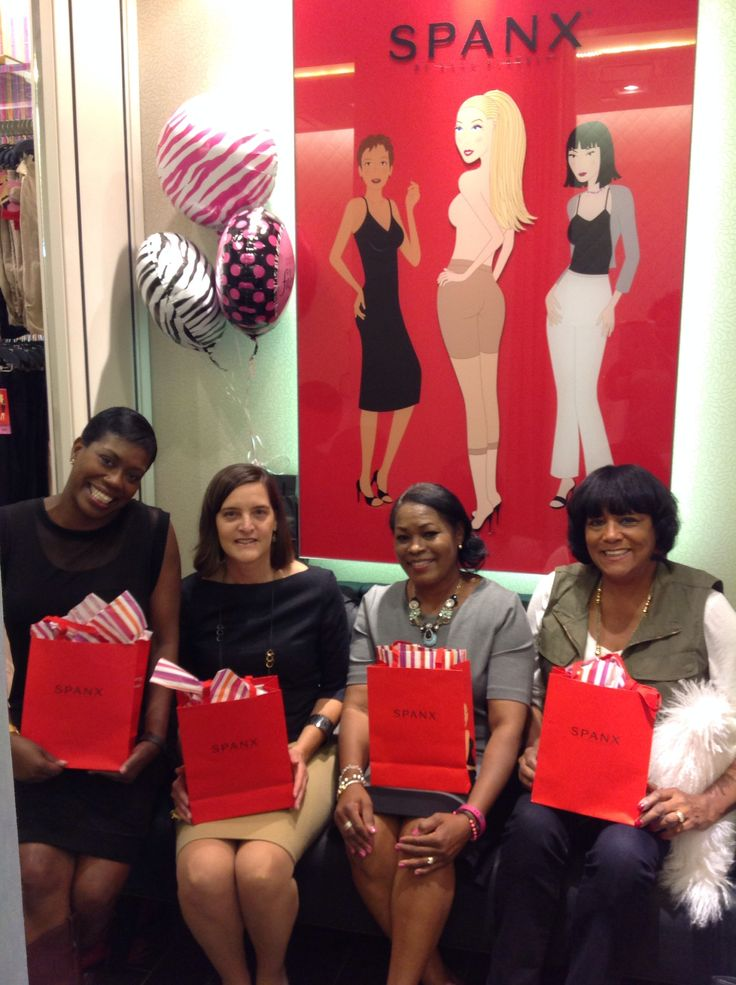 Polyvore Meetup group at King of Prussia Mall Spanx store.