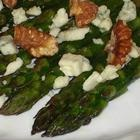 Asparagus with Gorgonzola and Roasted Walnuts...made it last night and ...