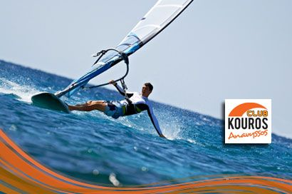 Γνωρίστε τον μαγικό κόσμο του Windsurf! 210€ για 10 μαθήματα windsurf, 2 θεωρητικά και 8 πρακτικά που πραγματοποιούνται στον ιδιαίτερα δημοφιλή προορισμό, στον Κόλπο της Αναβύσσου από πεπειραμένους εκπαιδευτές του «Kouros Club», αξίας 300€