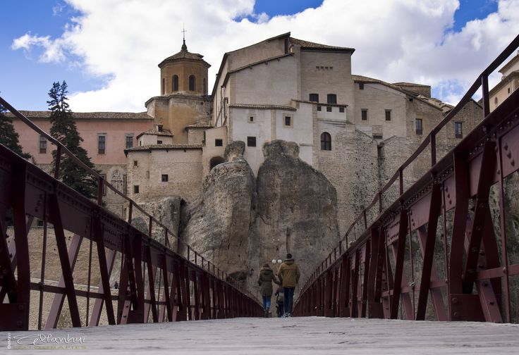 San Pablo's bridge - San Pablo's bridge in Cuenca (Spain)