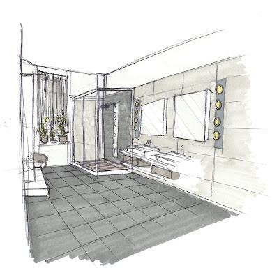 les 25 meilleures id es de la cat gorie croquis d 39 int rieur sur pinterest croquis d. Black Bedroom Furniture Sets. Home Design Ideas