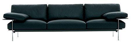 B Italia's 1970s Diesis sofa, work of Antonio Citterio & Paolo Nava