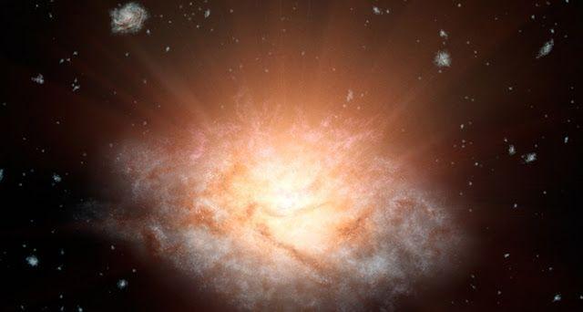 Mundo Curioso : La galaxia más luminosa del universo se esta autod...