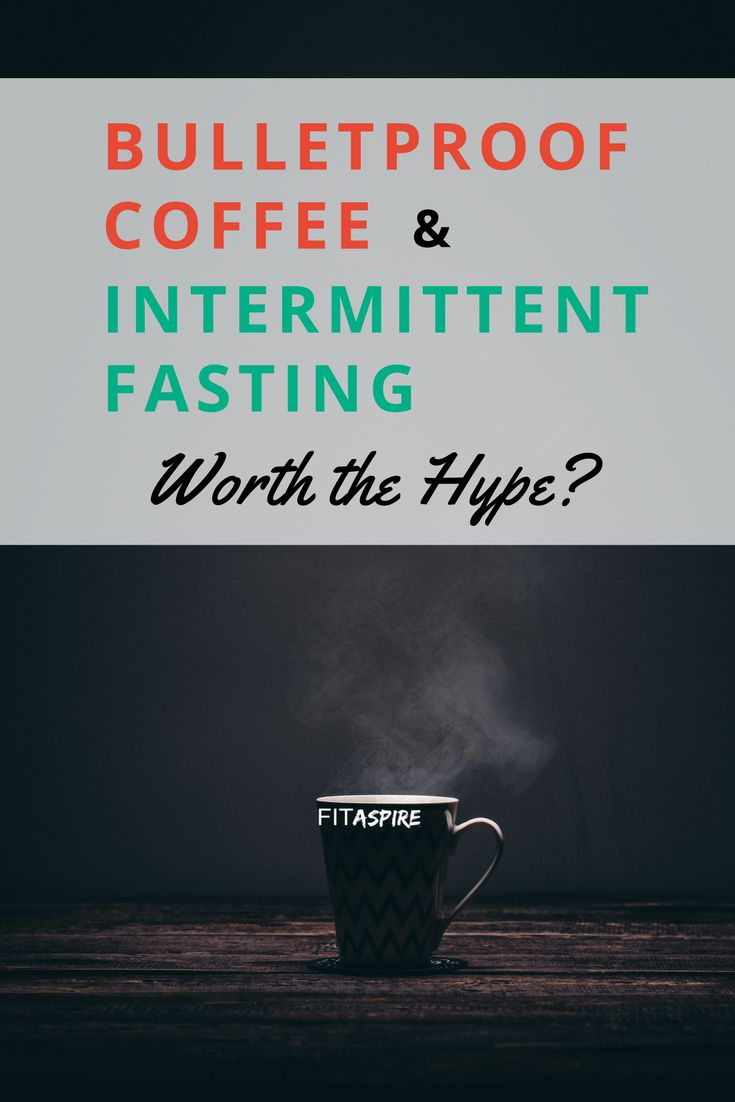 Bulletproof Coffee promises to make you lean, focused &energized. Intermittent F...
