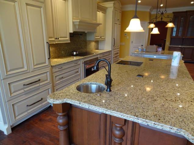 Fiesta Gold Granite Kitchen Exotic Granite Kitchens