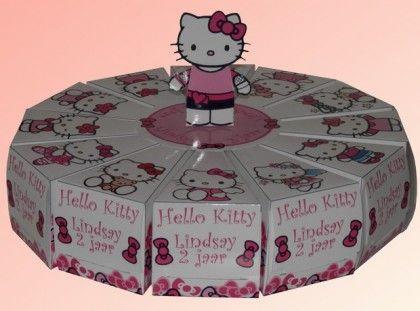 Hello kitty: taart