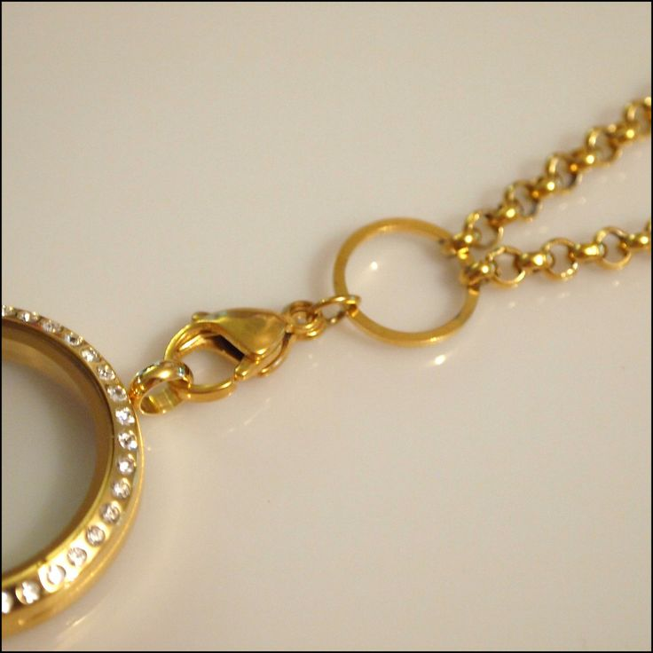 Gold Rolo Chain for Living Locket