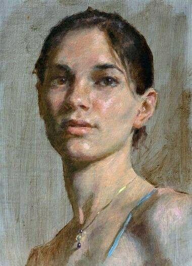 Портрет, масло