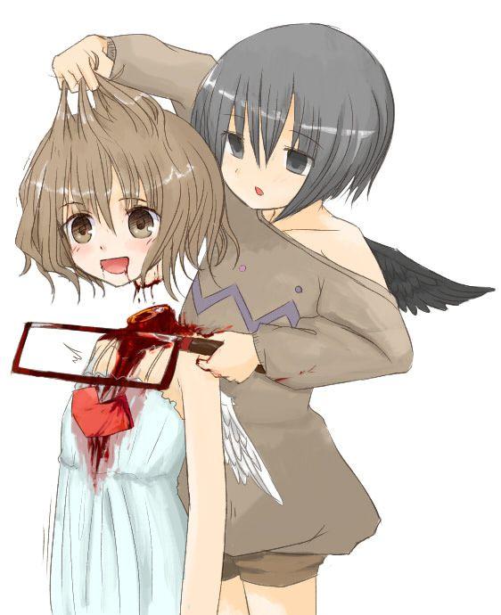 Anime girl gore porn