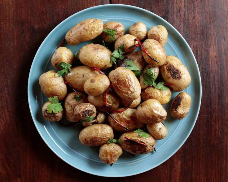 Roasted Baby Bakers with Fresno Chili Peppers and Herbs - Schwan's