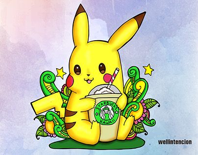 "Check out new work on my @Behance portfolio: ""Starbucks Pikachu"" http://be.net/gallery/53818769/Starbucks-Pikachu"