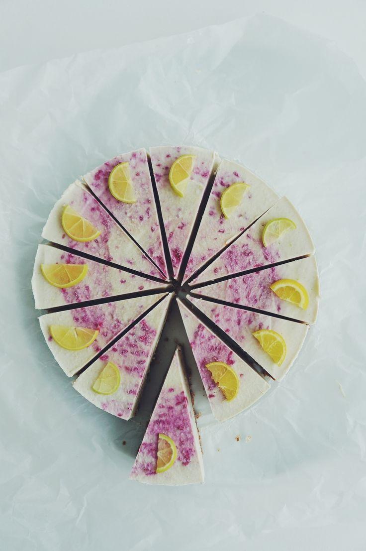 raw lemon cake.