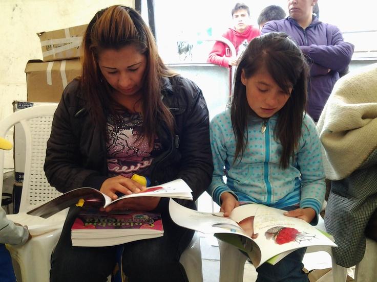 ¡Leer a Pombo en familia, nos hace más fuertes y nos llena de amor!