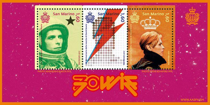 Vendita | 70° anniversario della nascita di David Bowie |  Filatelia,  | aasfn