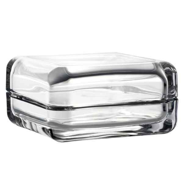 Iittala, vitriini box 108 x 108 mm, clear