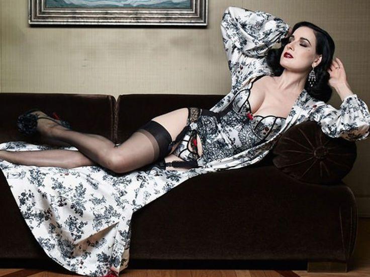 La collection de lingerie glam Dita Von Teese x Christian Louboutin