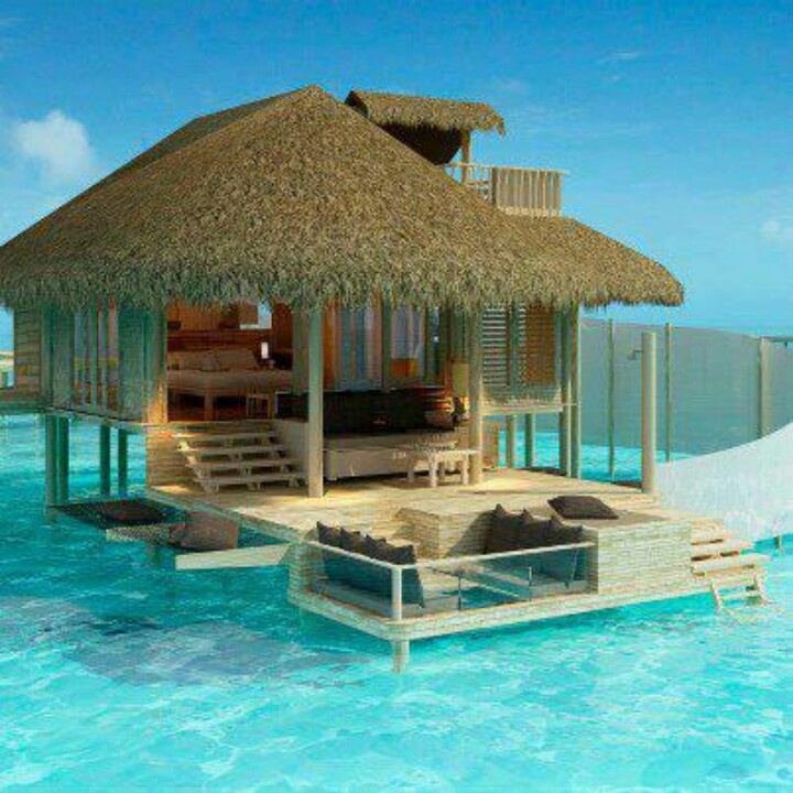 A tropical water vacation spot polyvore pinterest for Tropical vacation places in the us