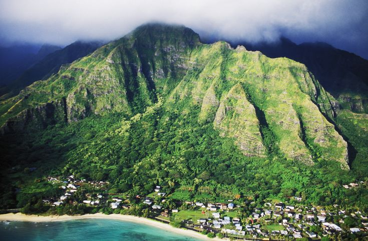Koolau Range is a name given to the fragmented remnant of the eastern or windward shield volcano of the Hawaiian island of Oahu.