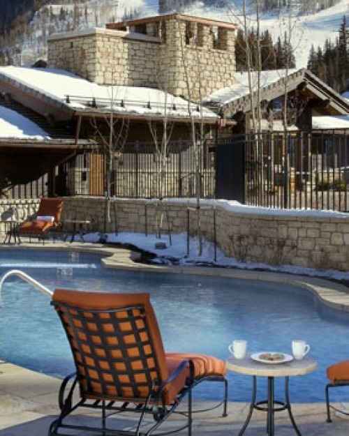 Comfy rooms with fireplaces & balconies with great mountain views, its impossible to have the vacation BLUES.  ✣ ✬  ☞ Lodge at Vail, A RockResort - Vail, Colorado.  For more info:  Aspen Creek Travel - karen@aspencreektravel.com