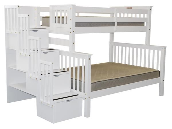 1000 images about bunk beds on pinterest beds loft and bunk bed plans - Bed mezzanie kind ...