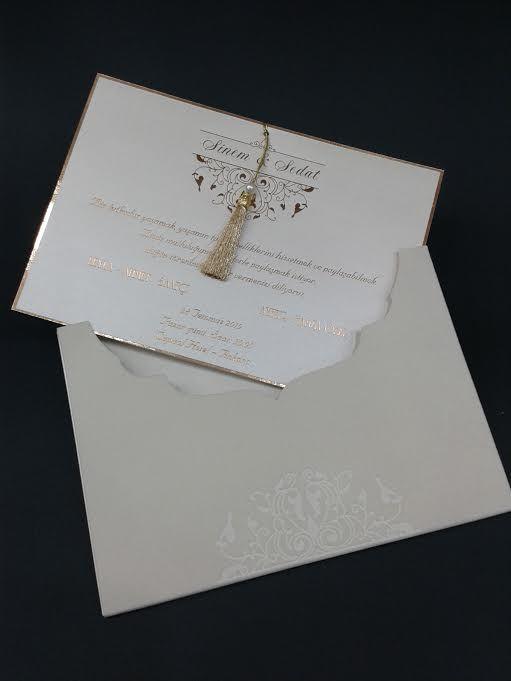 Peri Davetiye Wedding İnvitation Card