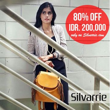 TODAY SPECIAL PRICE: SILVARRIE Lowendal Bag was Rp.750,000 NOW Rp.200,000! Limited to 10pcs! Only at www.Silvarrie.com Grab it fast while stock last! For more info: WA 0811215106 📱BBM D3041DC5 📱LINE silvarriebags