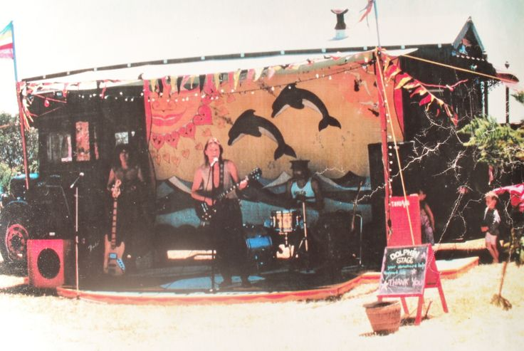 Dolphen Stage (early days) Whakatane