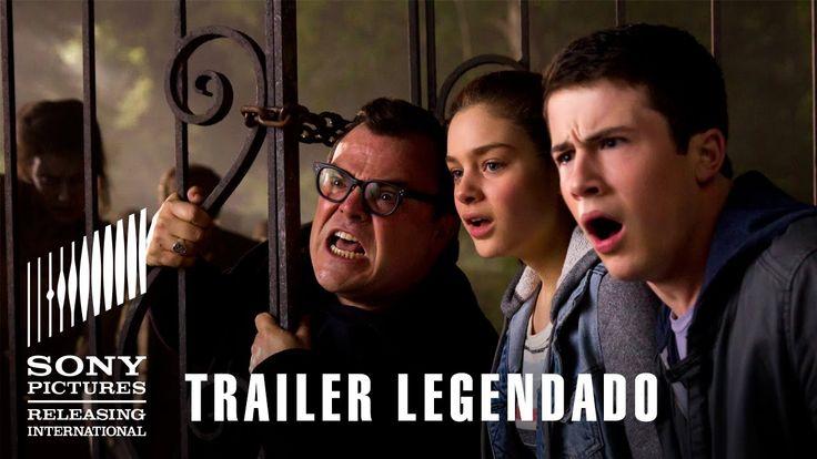 Por que se parece tanto a Jumanji?!  Goosebumps - Monstros e Arrepios   Trailer Legendado   22 de outubro nos...