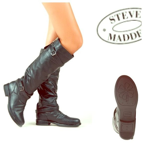 SALE $29 New Steve Madden Tall Riding Boots