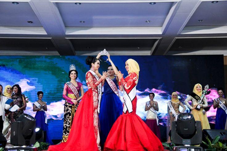 Detik-detik penganugerahan Putri Pariwisata Indonesia Bengkulu 2017