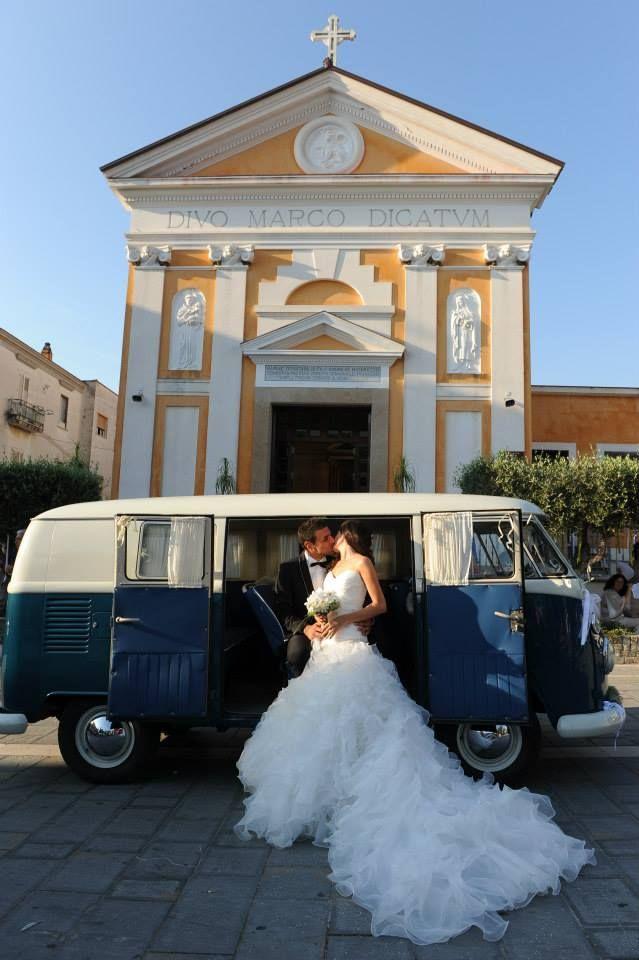 ♥Giovani innamorati che hanno scelto di coronare il loro sogno d'amore nel Cilento♥ #Pulmino #Volkswagen #T1