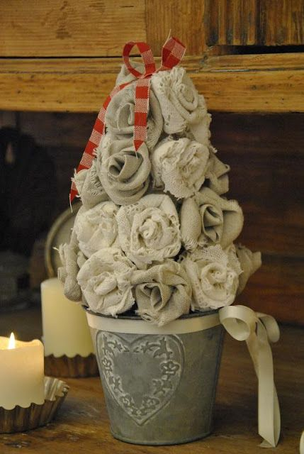 Shabby anima decorazioni di natale fai da te in casa mia for Decorazioni shabby chic fai da te