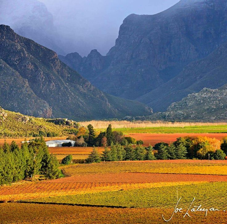 Hex River valley Western Cape South Africa