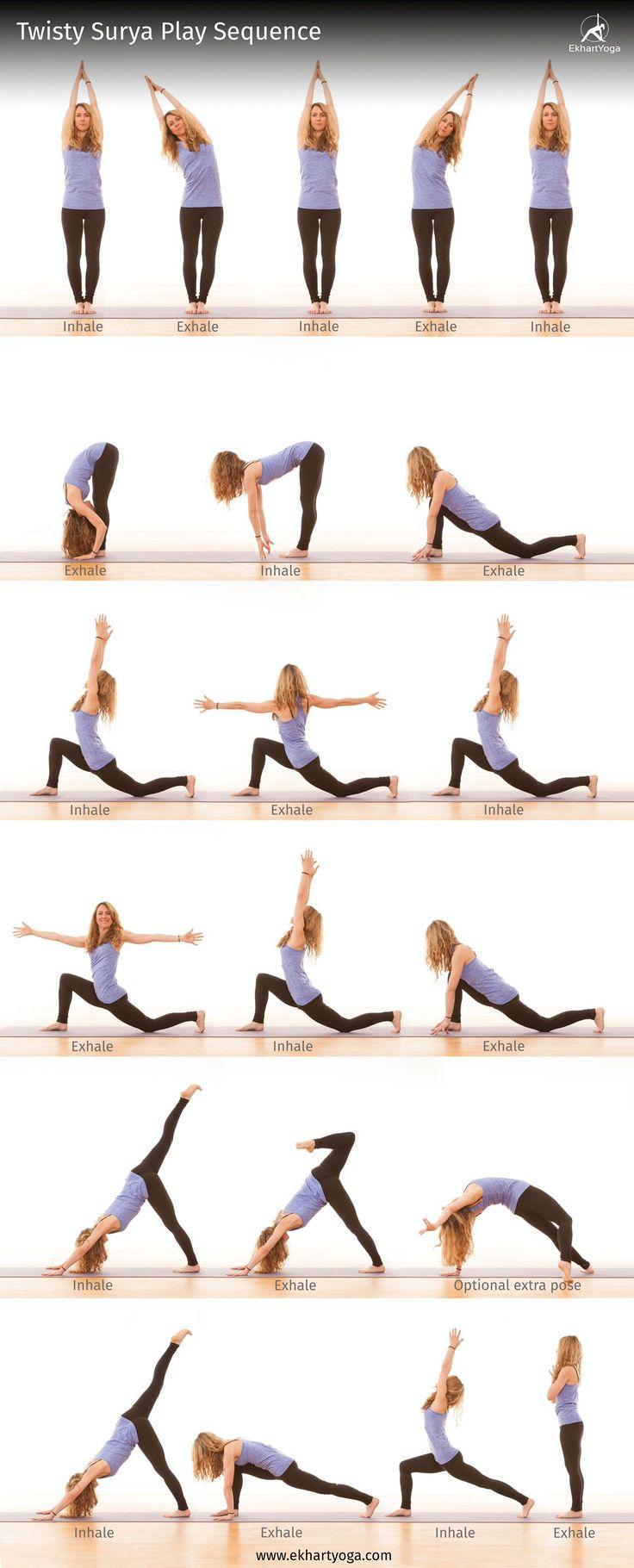 Secuencias yoga