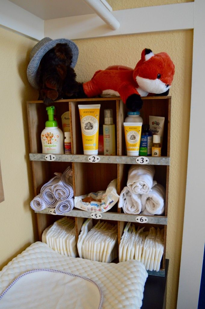 Changing table organization - love the way this is styled and organized!
