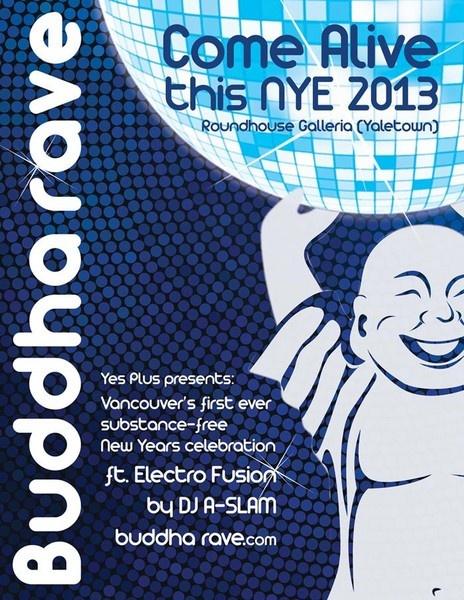Buddha Rave Yaletown party
